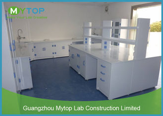 PP Material Modular Laboratory Furniture For Hospital Clinical Alkali Resistance
